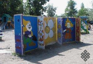 Мир детей в столице Тувы