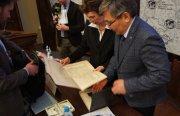 В Санкт-Петербурге презентован исторический альбом «Пути великих свершений»