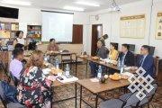 Тувинские ученые — активисты объединения «Эртем» встретились с академиком Дашнямом