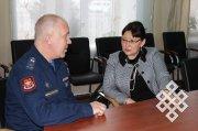 В Тувинском госуниверситете открылась военная кафедра