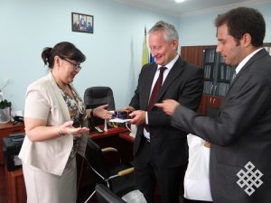 Тувинский госуниверситет включается в развитие российско-германских образовательных связей