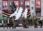 В столице Тувы на улице, названной в честь тувинских добровольцев, появился одноименный сквер и памятник