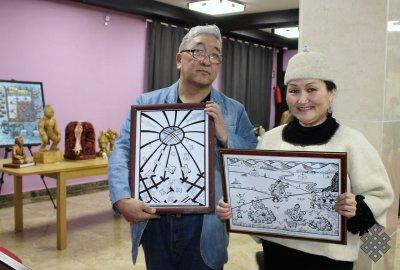 Союз художников Тувы подвел итоги прошедшего года