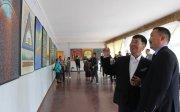 В Доме художников Тувы работает юбилейная выставка Шоя Чурука