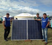 Тувинским животноводам показали и рассказали о достоинствах солнечной электроэнергии