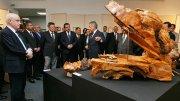На выставке в Кызыле впервые представили художественные работы Сергея Шойгу