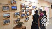 В Тувинском госуниверситете открылась выставка о буддийских наставниках
